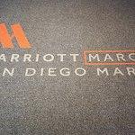 Marriott Marquis Entrance Rug