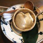 ランチについてるザル豆腐