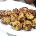Chicken Achari Kebabs