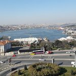 View of the Golden Horn from the room