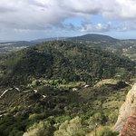 A Serra da Arrábida desde o Castelo de Palmela