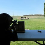 Well equip for the younger shooters, so they don't have to take the weight of the rifle