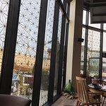 floor to ceiling windows