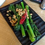 Soya and chilli broccoli