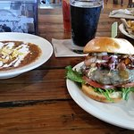 Black N' Bleu Burger, Chili and Night Swim Porter
