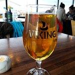 Lovely lager.
