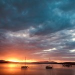 Sunset at Connel Bay