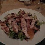 Aromatic Avocado, Orange and Pecan Salad (with chicken) - divine!