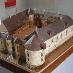 The model of the chateau