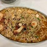 Octopus rice