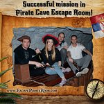 Advanced treasure hunters arrived to the secret cave and they won against pirates. Congrats! ;)
