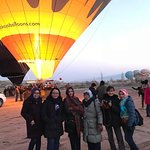 Tempat penerbangan hot air ballon Cappadocia