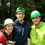 After Zip Lining