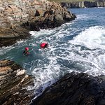 Coasteering in Anglesey