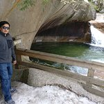 The Basin at Franconia Notch State Park Foto