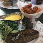 Sirloin Steak W/ Bearnaise Sauce & Sweet Potato Fries