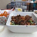Brisket salad, not eatable