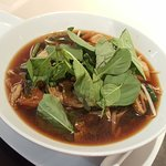Noodle with Nam tok flavor
