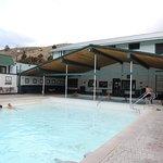 Hot springs pools