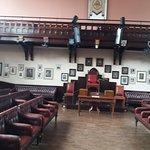 The debating room