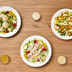 Excellent salads, fresh every day at Johnny Brusco's