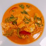 Jungle Chicken Curry: the most selling curry on the menu