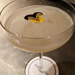Flower martini