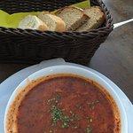 Goulash soup and apres ski glühwein