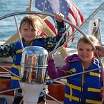Never too young to sail.