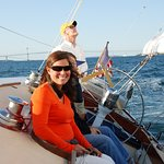 Have fun sailing on Narragansett Bay - check out the historic sites as you sail by.