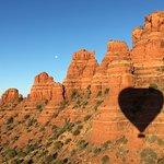 Red Rock Balloon ride Sedona, AZ