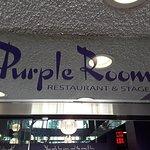 Purple Room Sign