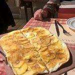 La tarte flambée sucrée aux pommes