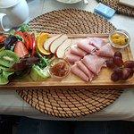 Beautiful ham salad.