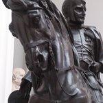 Napoleon on horseback - detail - Lady Lever Art Gallery