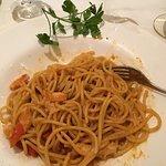 Spaghetti mit Hummer
