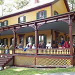 Grant Cottage hosts events throughout the season.