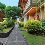 like an oasis at the heart of busy and vibrant life in Kuta, Bali