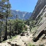 Trail for Upper/lower Yosemite Falls