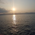 Sunset view - Ferry ride from Havelock to Port Blair