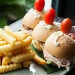 Pork mini burger