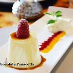 White Chocolate Panacotta