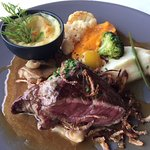 Beautiful steak dish, full of flavour.