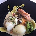 Elegant fish dish