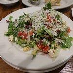 My wife enjoyed the salad.