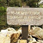 Mt. Megunticook Summit Elevation 1,385 feet