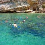 Snorkeling at Tintamare Island.