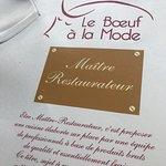 Le Boeuf a la mode Foto