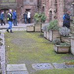 Easter Saturday at Birkenhead Priory 2018, photos by Elaine Heritage