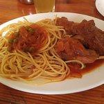 Rabbit Spaghetti